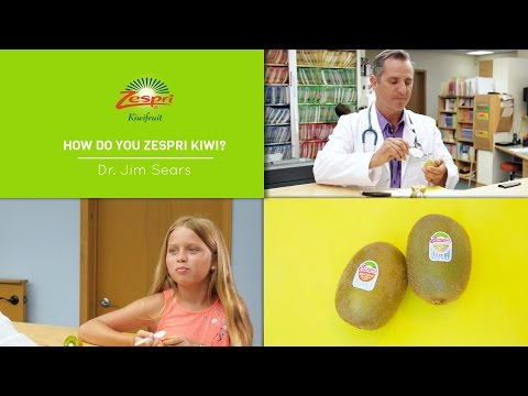 Dr. Jim Sears Gives the Scoop on Zespri Kiwis