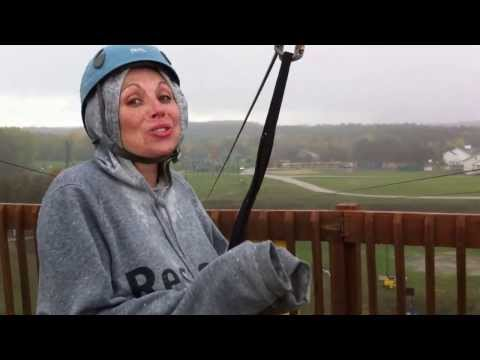 Zip Line at Spring Hill TEEN RETREAT Restore Church of Detroit