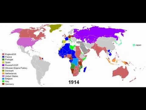 European Colonial Empires