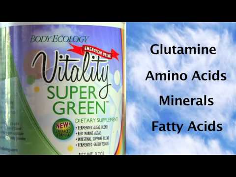New Gluten-Free Vitality SuperGreen Dietary Supplement - Donna Gates