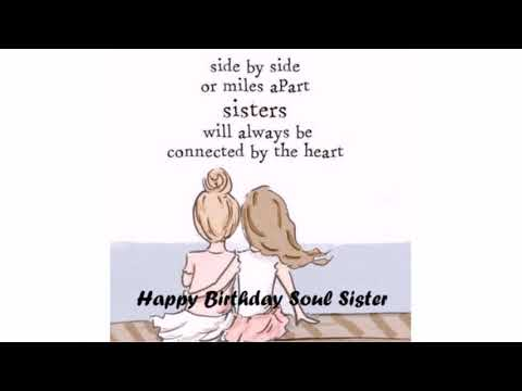 Happy Birthday Soul Sister Wishes and Quotes | WishesGreeting