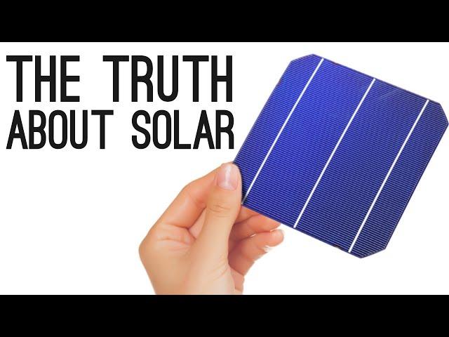 מספר אמיתות לגבי אנרגיה סולארית