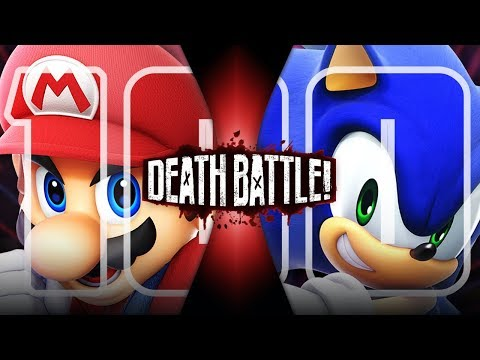 Mario VS Sonic (Nintendo VS Sega) | DEATH BATTLE!