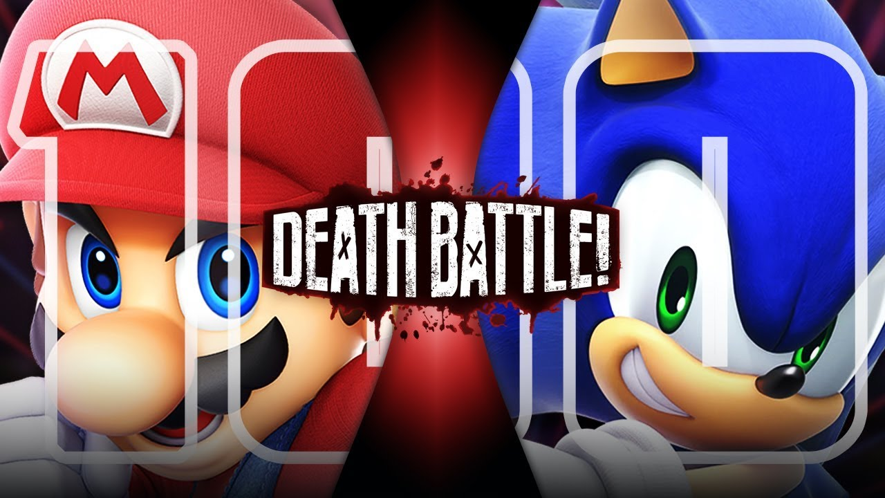 Mario Vs Sonic Nintendo Vs Sega Death Battle Youtube