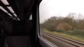 Leaving Oxford On A Great Western Railways Class 43 HST (26/11/15)