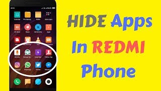 How to Hide Apps in Redmi Note 4 , Note 5 pro MIUI 10