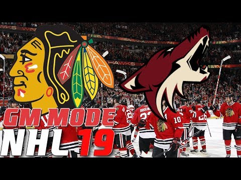 CONFERENCE FINALS ARIZONA - NHL 19 - GM Mode Commentary - Chicago ep. 15