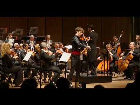 Mozart Violin Concerto No 5 A major K 219 Giovanni Andrea Zanon orchestra of the Verona Arena Italy