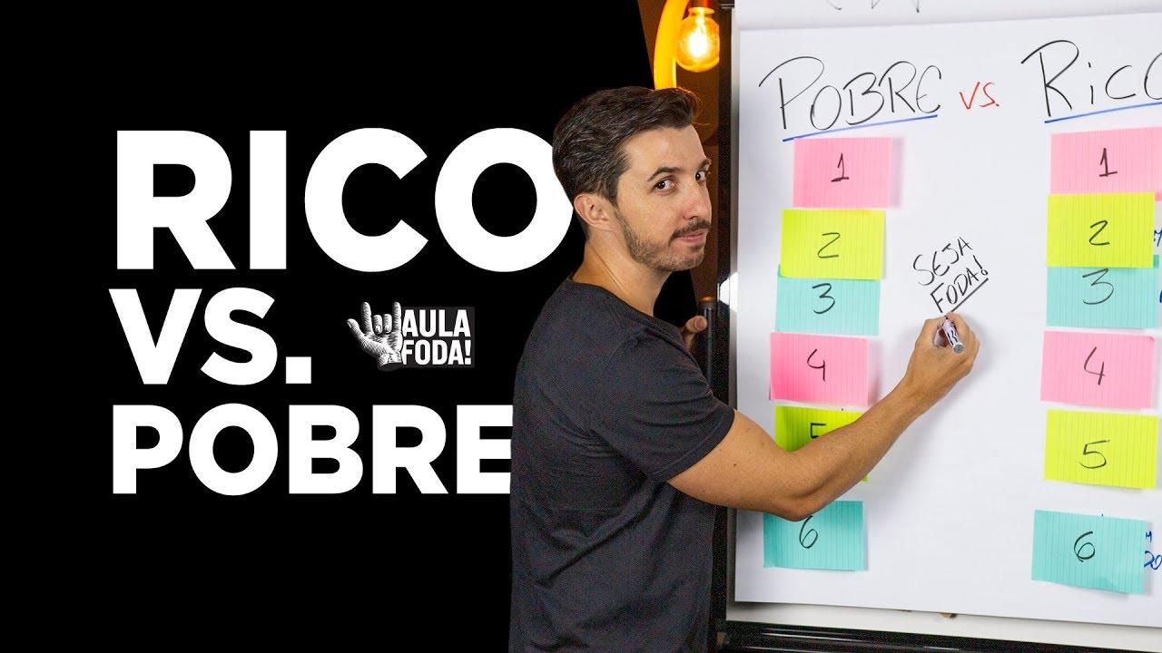 6 Hábitos de Ricos vs. Pobre - AULA FOD* - Caio Carneiro