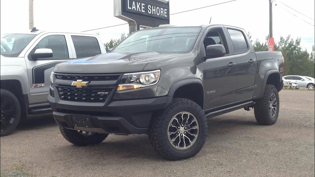 2018 Chevrolet Colorado Zr2 Start Up Engine Full Review