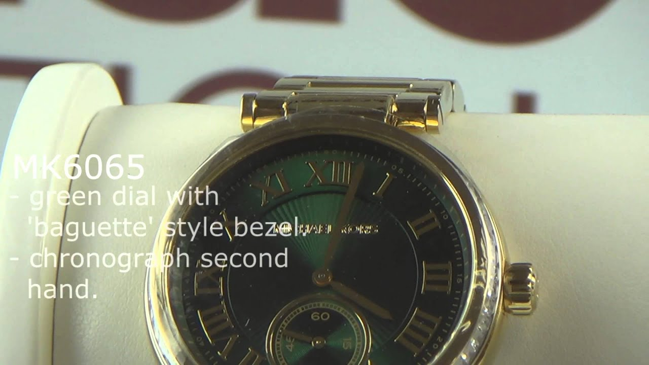 Michael Kors Skylar watches overview - YouTube 7ae2a4836e