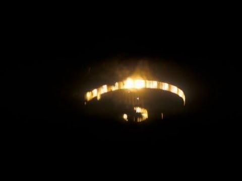 UFO 2017. UFO sighting in Portland,Oregon. UFO Sighting with Glowing Lights