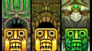 Temple Run 2 Sky Summit Vs Temple Run Vs Temple Run 2 Lost Jungle Endless Run Gameplay (Android/iOS)