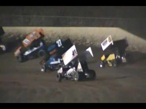34 Raceway 305 Sprints A Main 9/1/18