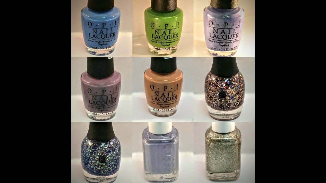 Nail Polish Haul... ESSIE, OPI, CHINA GLAZE and FINGER PAINTS ...
