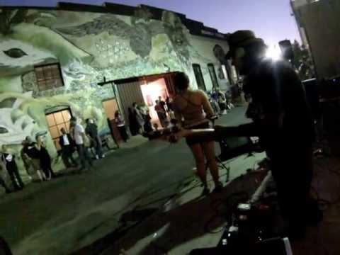 Despicable Alien Live @ Broadway Studios Art Hop (05/02/13) Part 1