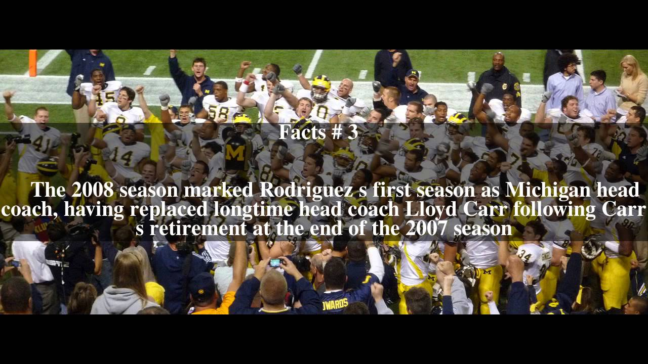 2008 Michigan Wolverines football team Top # 5 Facts