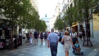 アキーラさん散策①スペイン・マドリッド・プエルタ・デル・ソル近くアレナル通り!Near Puerta-del-Sol,Madrid,Spain