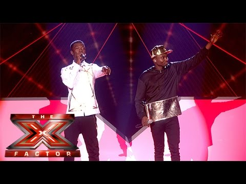 Reggie 'N' Bollie sing Forever Young (Winner's Song) | The Final Results | The X Factor 2015