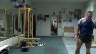 Разминка и растяжка в гиревом спорте Морозов Игорь - 2010