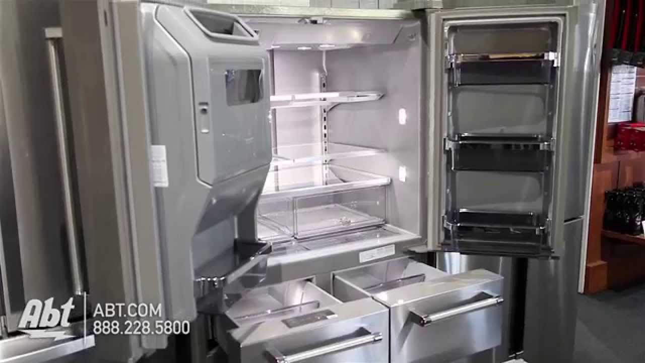 kitchen aid appliance 3 piece set kitchenaid multi door stainless steel french refrigerator krmf706ess overview youtube