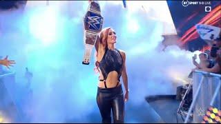 Becky Lynch Entrance Smackdown September 03 2021