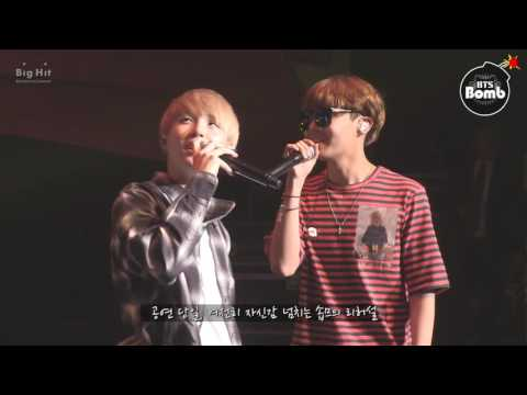 [BANGTAN BOMB] BTS' Vocal Duet 'SOPE-ME' Stage behind the scene - BTS (방탄소년단)