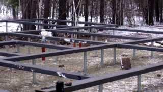Изготовление винтовых свай: самодельные или заводские (видео)
