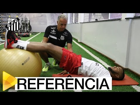 Após cirurgia, Victor Andrade se recupera no CEPRAF