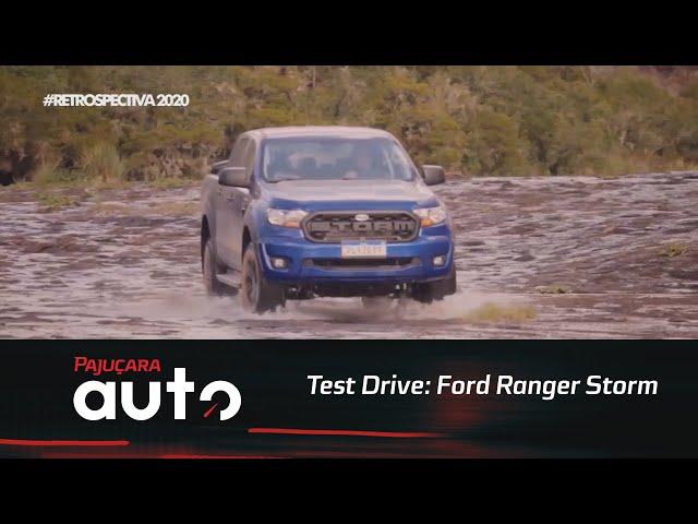 Retrospectiva 2020: Reveja o test drive da Ford Ranger Storm