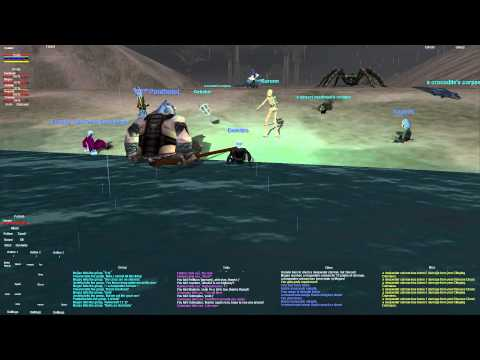 Everquest old school : Part 36 - Oasis - Beach Group - Dark Elf Necro