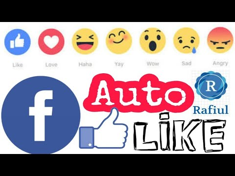 Unlimited Like and React | Love, HaHa, WOW, Angry, Sad, Mixed | on Facebook Photos, Status and Pages
