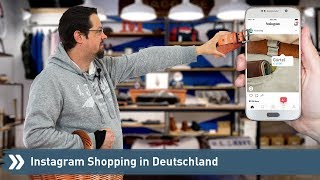Instagram Shopping in Deutschland