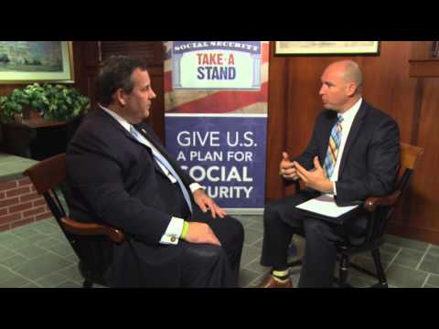 2016 Take a Stand: Chris Christie on Social Security