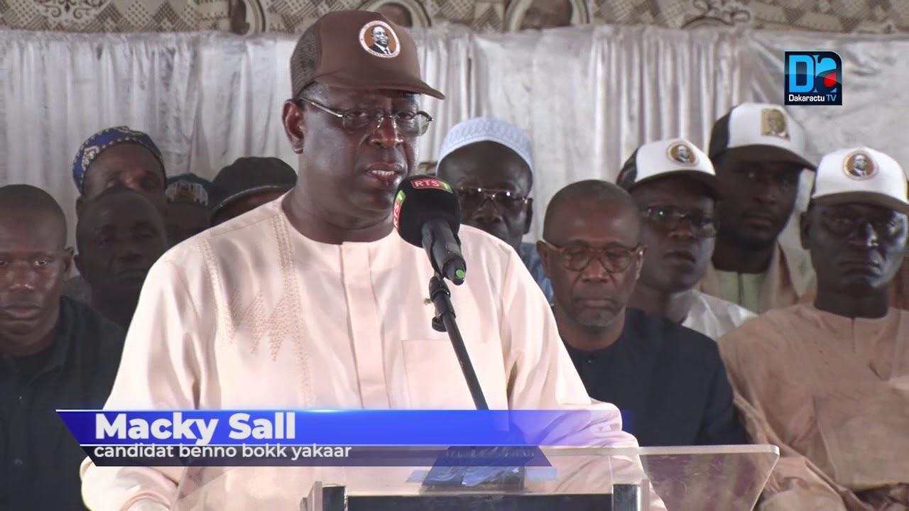 Présidentielle 2019 : Les condoléances de Macky Sall à Ousmane Sonko