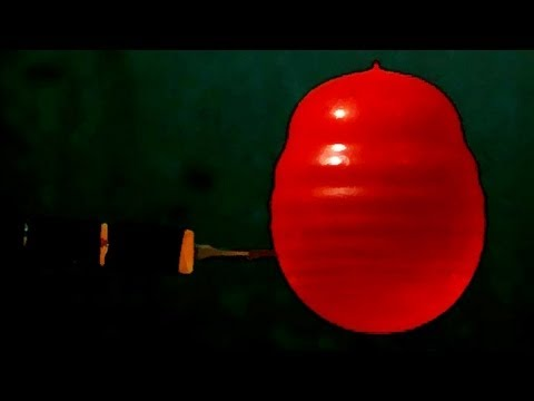 Science of Water Balloons from @sixtysymbols