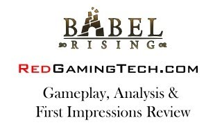 Babel Rising PC Gameplay, Analysis and First Impressions Review