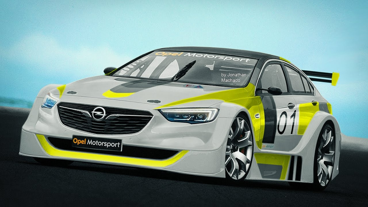 Opel Insignia Dtm >> MAKING OF 2017 Opel Insignia DTM Concept #OPEL - YouTube