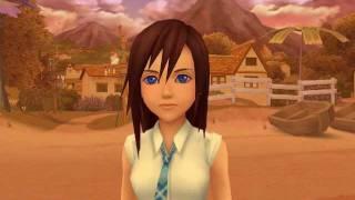 Kingdom Hearts 2 - Kairi and Selphie cutscene