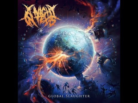 A Night In Texas announce new album titled 'GLOBAL SLAUGHTER'!