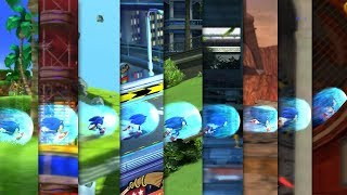 SONIC GENERATIONS Modern Sonic In Classic Stages