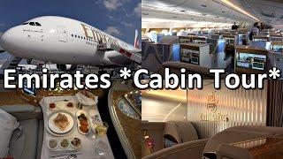 ILA 2016: *Full Cabin Tour* Emirates Airbus A380 [A6-EUA]
