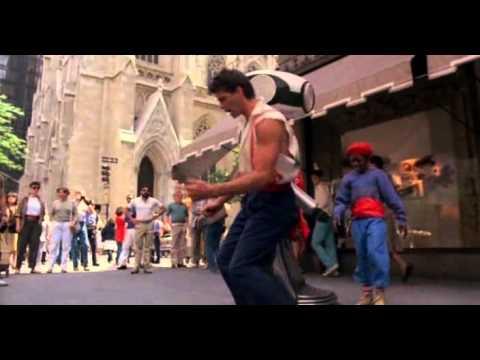 Nanar - Lorenzo lamas in body rock  - Hip hop lesson !!!