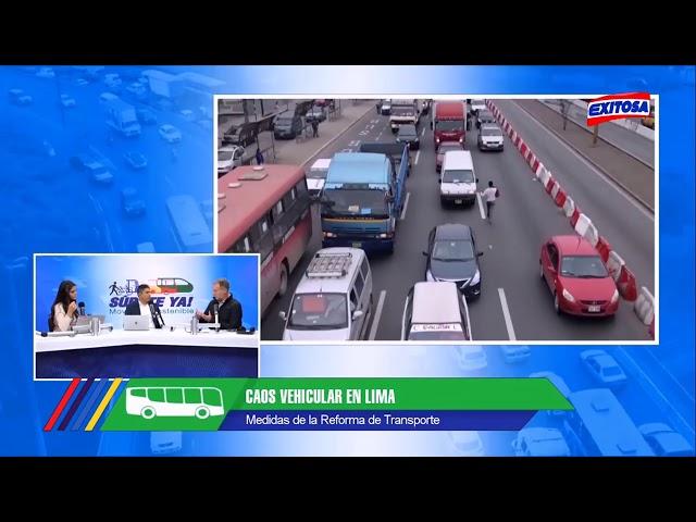 #SúbeteYa Entrevista a Jorge Muñoz, alcalde de Lima