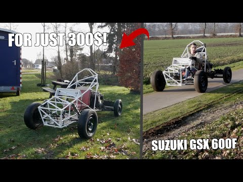 HOMEMADE 600CC SUZUKI RACE CAR BUILD!