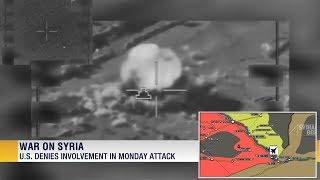 19 июня 2018. Военная обстановка в Сирии. Удары по сирийским силам возле Евфрата, 30-90 погибших.