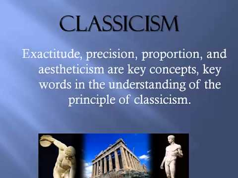 greek classicism A short history of classical greece with the most important players and events highlighted.
