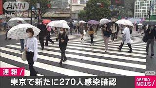 東京都で新たに270人の感染確認 新型コロナ(2020年9月26日)