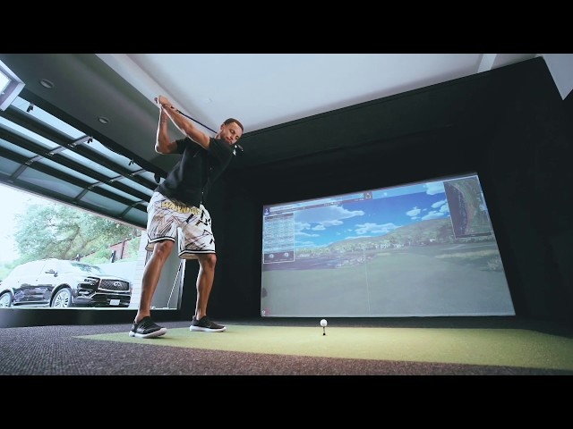 Steph Curry On How He Installed Full Swing Simulator