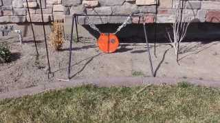 DIY Collapsible Steel Target Stand For Your Gong